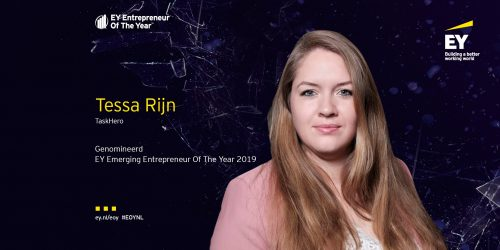 Tessa Rijn EY Nederland Emerging Entrepreneur 2019