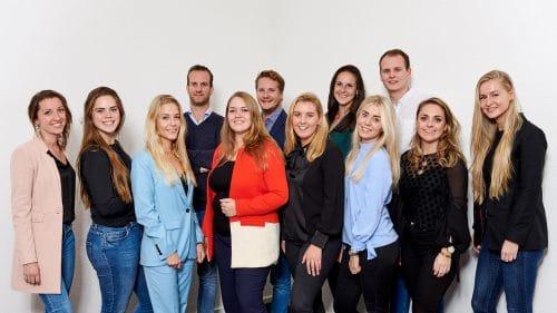 Tessa Rijn en team TaskHero groepsfoto