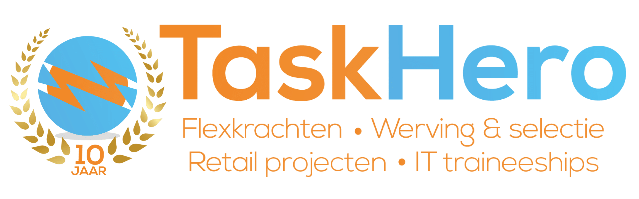 Werken met TaskHero logo
